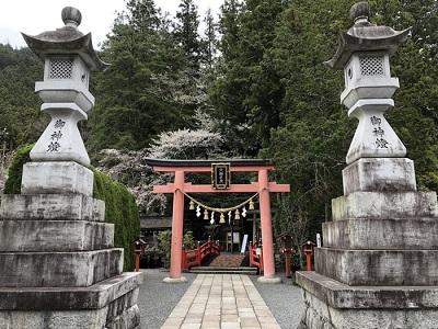日本三大霊場の中心に位置する最強のパワースポット天河神社(奈良)