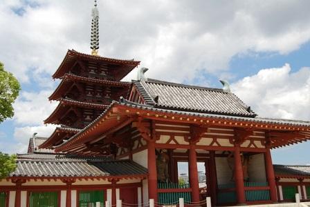 聖徳太子の宇宙観が伝わる四天王寺(大阪)