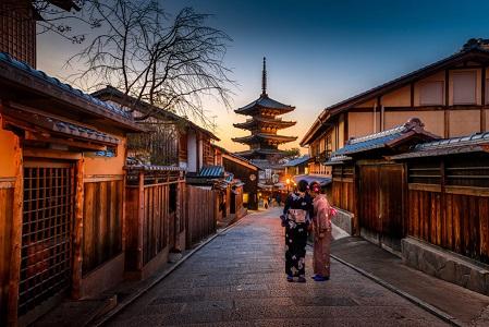 1000年以上天皇陛下が御座した京都