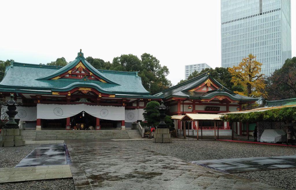 東京都内おススメのパワースポット 皇居 日枝神社 永田町近辺