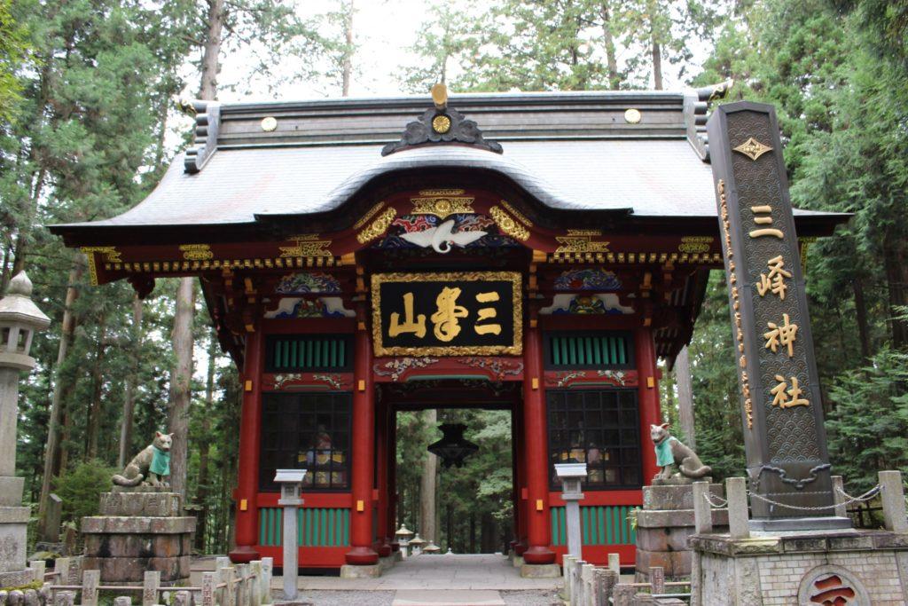 関東近郊オススメのパワースポット 三峯神社