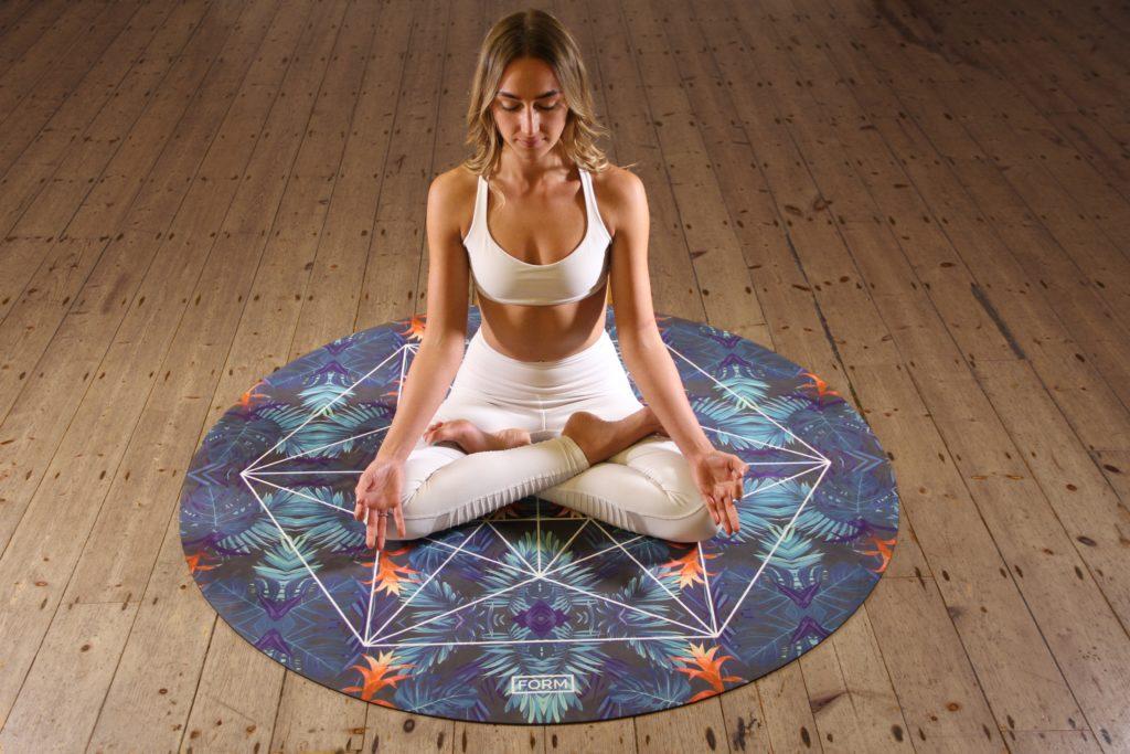 瞑想の一般的イメージ